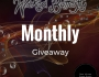 Enter Our Monthly Giveaway